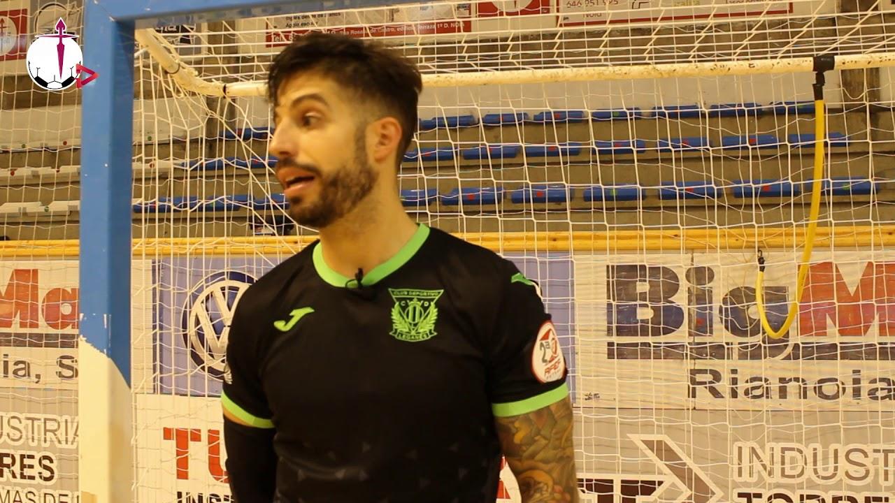 """Nacho Pedraza: """"El problema es que siempre íbamos por detrás en el marcador"""""""