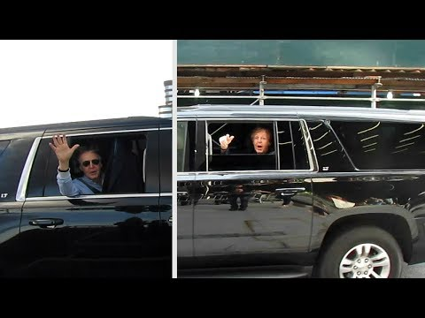 Paul McCartney Arriving At/Leaving 5 NY Shows Sep 2017