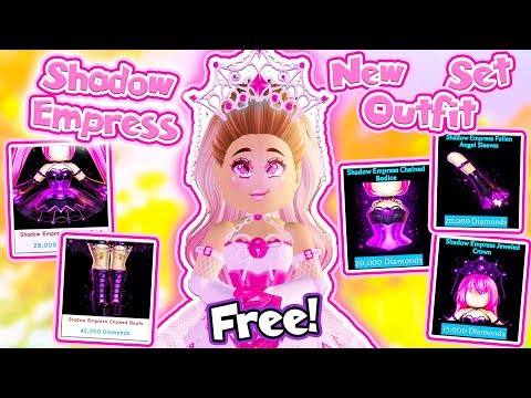 How To Get The NEW SHADOW EMPRESS SET FOR FREE in Roblox Royale High School!