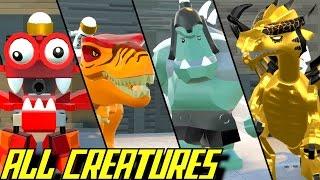 LEGO Worlds - All Animals & Creatures UNLOCKED Showcase