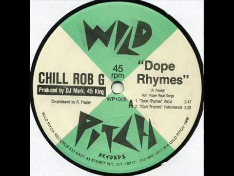 Chill Rob G - Chillin' (Wild Pitch 1988)