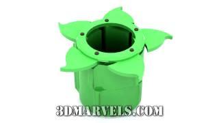 Iris Box: 3D Printing Animation (720HD)