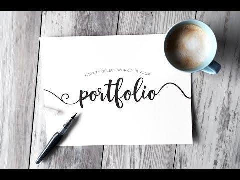 Selecting Work for your Graphic Design Portfolio