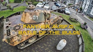 Panther Ausf G Walkaround - Houffalize History Battle of the Bulge.
