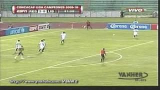 Real España vs Liberia Mia 6-0 Concacaf Liga de Campeones [6/08/09]
