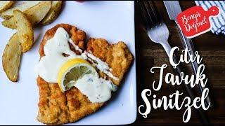 Tavuk Şinitzel Nasıl Yapılır? Tavuk Şinitzel Tarifi - Çıtır Tavuk (Tavuk Yemekleri)