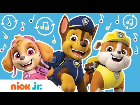PAW Patrol Theme Song Remix in 3 Ways 🐾 Official Music Video | Nick Jr.