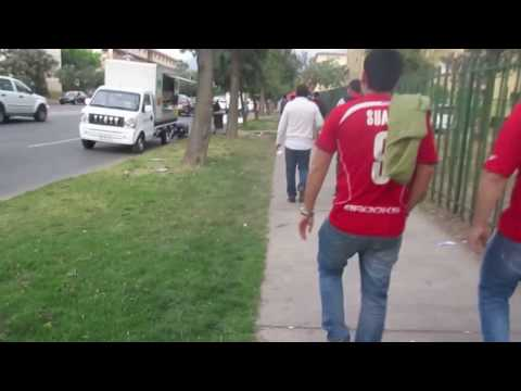 Baixar On the way to the National team stadium in Santiago, Chile - October 11, 2016