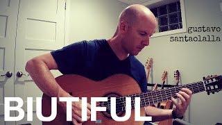 Скачать Gustavo Santaolalla Rein Biutiful Fingerstyle Guitar TAB