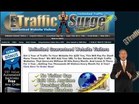 Buy traffic website