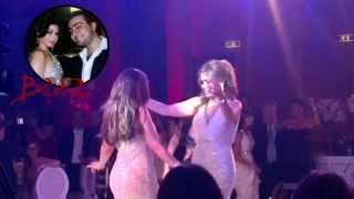 Haifa Wehbe in a private wedding in Lebanon Beirut Dancing...EXCLUSIVE HD !!
