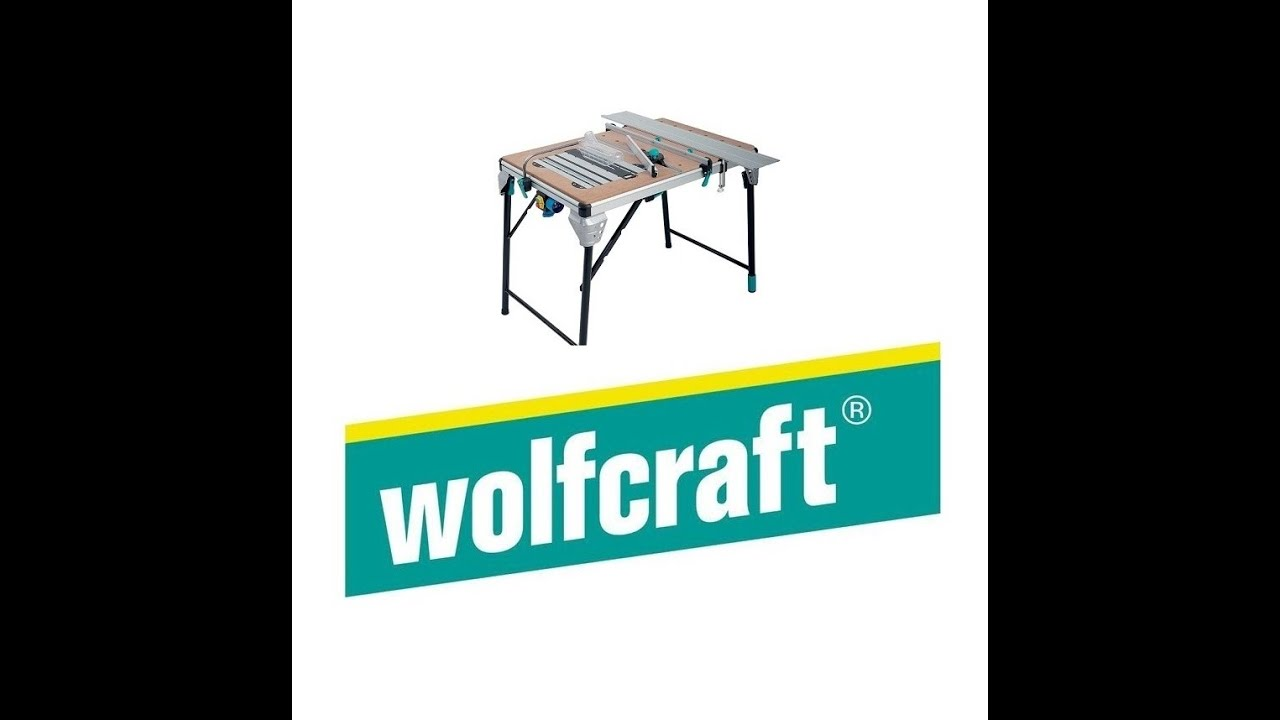 st roboczy wolfcraft master cut 2000 6900000 youtube. Black Bedroom Furniture Sets. Home Design Ideas