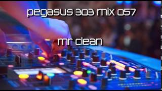 Pegasus 303 Mix 057 with Mr. Clean - Techno, Tech House, Minimal  2014 (60 Min Set)