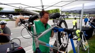 Good Karma Bikes at Bike to Work Day May 8, 2014 at  Marvell Semiconductor, Inc.