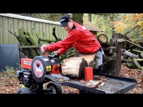 Atemberaubend TURBO SPALTER ! Produktvideo Holzspalter Liegendspalter &AV_94