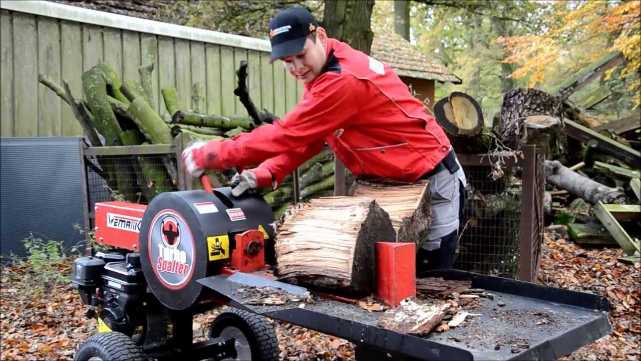 Super TURBO SPALTER ! Produktvideo Holzspalter Liegendspalter @HK_56