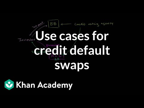 Use cases for credit default swaps | Finance & Capital Markets | Khan Academy