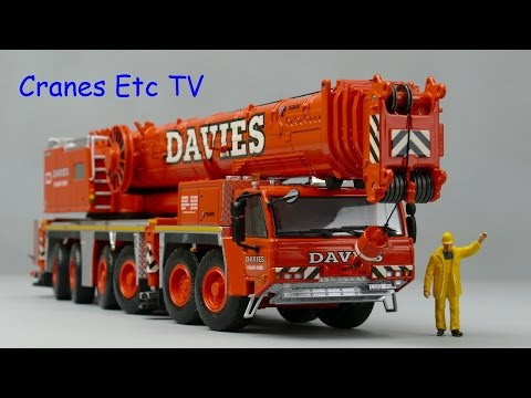 WSI Tadano ATF 400G-6 Mobile Crane 'Davies' by Cranes Etc TV
