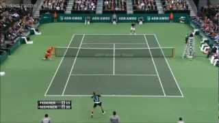 Roger Federer - Best Points @ Rotterdam '12 - (HQ)