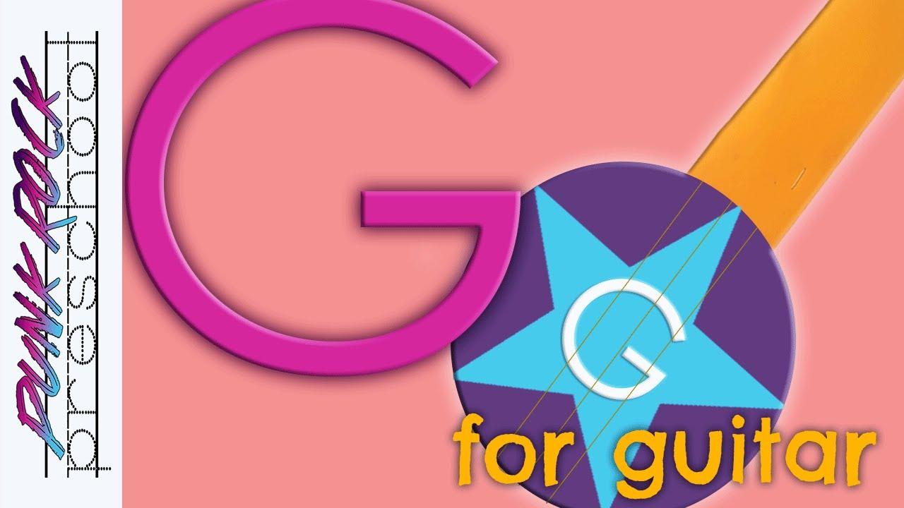 Letter G For Guitar Fun Preschool Crafts For Kids Best Preschool