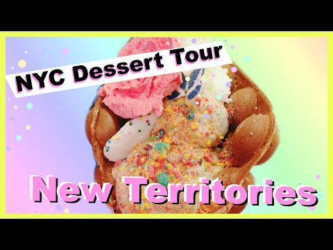 New Territories: Hong Kong Bubble Waffle Ice Cream || NYC Dessert Tour EP 1:5 💖