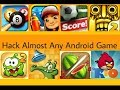 How to Hack All Android Games In Your Android Device, No root