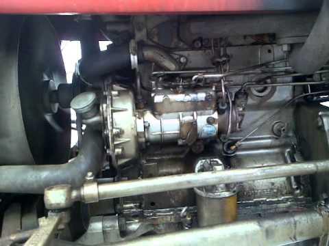 Ford 240 Engine Diagram Massey Ferguson 133 Perkins Diesel Youtube