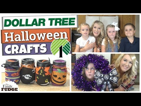 Dollar Tree DIY Crafts Under $5 || Kid friendly Halloween Crafts
