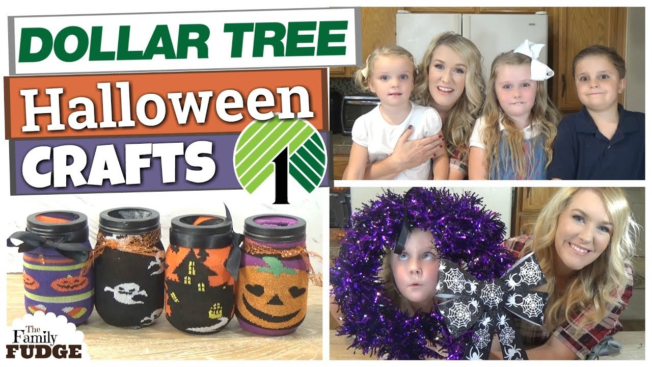 Dollar Tree Diy Crafts Under 5 Kid Friendly Halloween Crafts