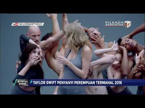 Taylor Swift, Penyanyi Wanita Termahal 2016 Mp3