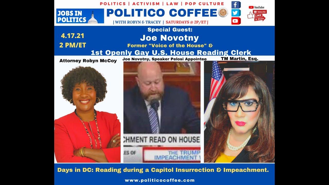 Surviving the Insurrection: Former House Reading Clerk Joe Novotny Talks His Career & 1.6.21.