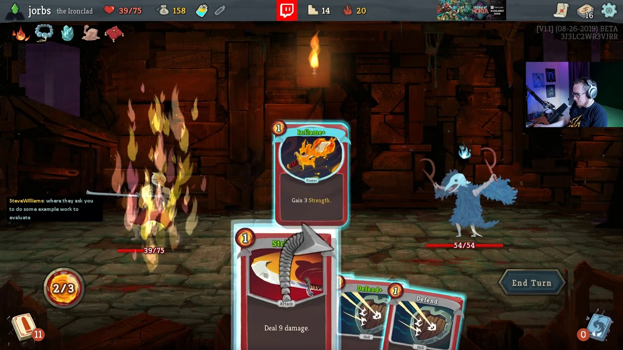 The Self Damage Special Ascension 20 Ironclad Run Slay The Spire Youtube In order to unlock ascension 1, you must have beaten all 3 of the act 3 bosses or won at least 5 times across all characters. the self damage special ascension 20 ironclad run slay the spire
