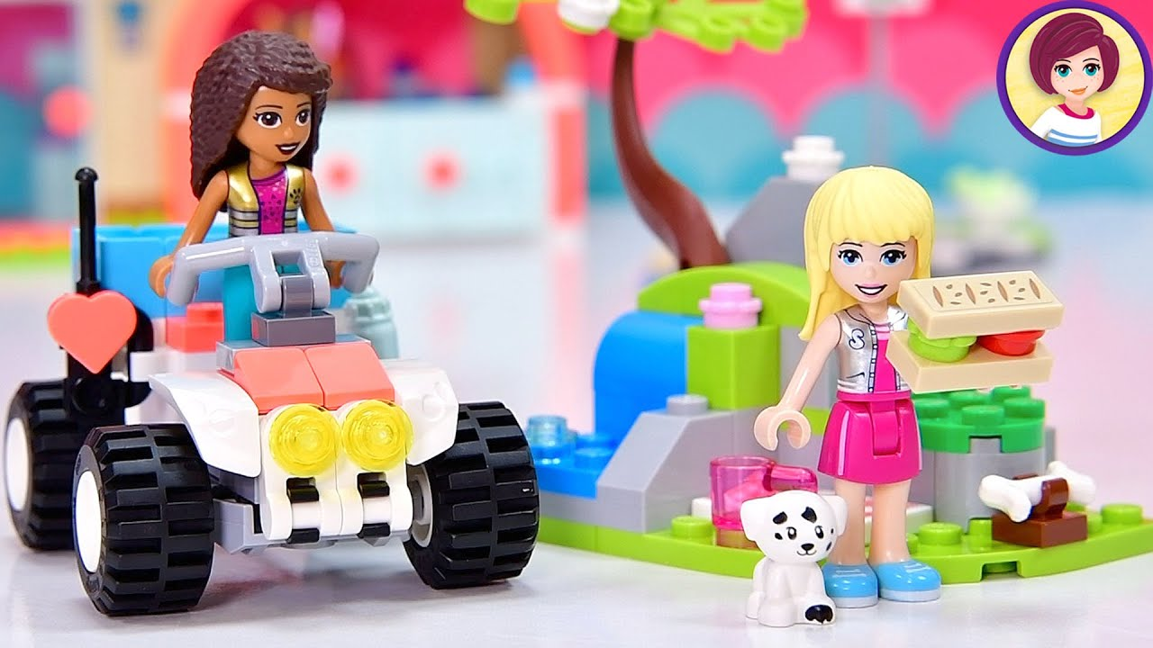 Lego Friends Vet Rescue Buggy - with exclusive minidolls, such great value for a small set!