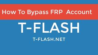 How to bypass FRP Account For CPU MTK BY Sp Flash Tool 🔓