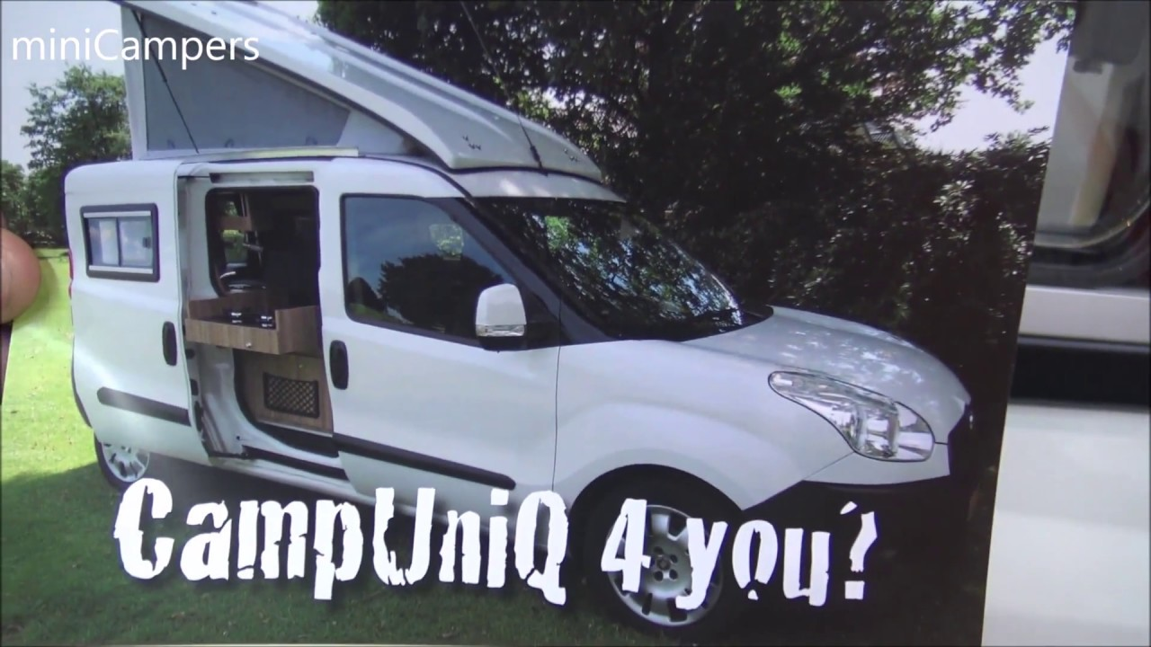 Fiat Doblo Campuniq Mini Camper 2018 Youtube