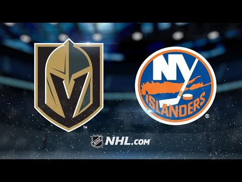 Tavares nets two as Islanders top Golden Knights, 6-3