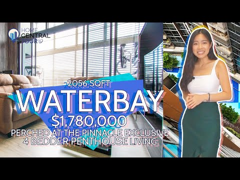 Singapore Condo Property Tour: Waterbay Exclusive 4 Bedder Penthouse Living