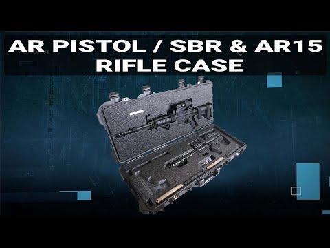AR Pistol (or SBR) & AR15 Rifle Case - Video