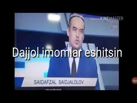 Abdulloh  Domla Hijob Haqida Dajjol Imomlar Eshitsin
