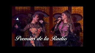 """Ana Bárbara y Edith Márquez """"Par de Reinas"""" Premios de la Radio 2017"""