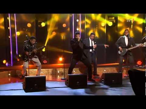 The Jacksons - Medley (Live Skavlan 2013)