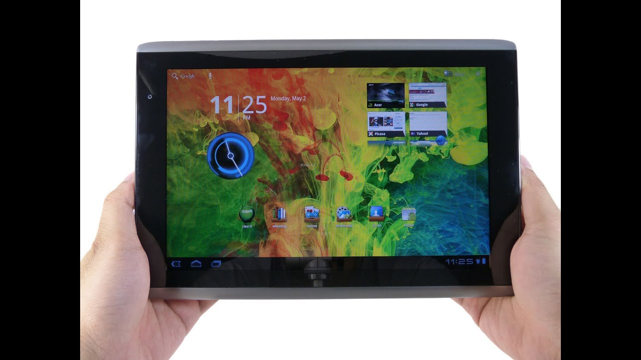 Acer Iconia Tab A500 Review Youtube