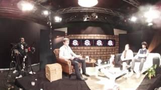 """360° Décor du plateau de l'émission de télévision """"Le Salon"""""""