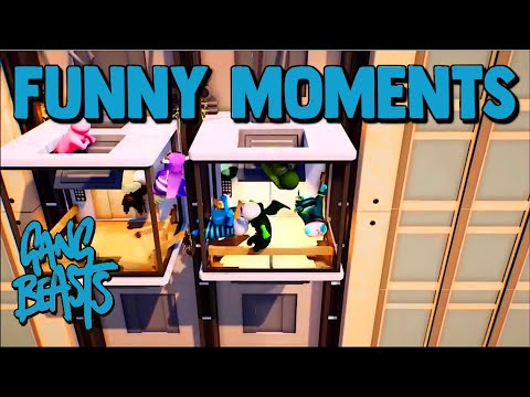 Gang Beasts PS4 Funny Moments #18