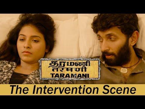 Taramani - The Intervention Scene   Andrea Jeremiah, Vasanth Ravi   Yuvan Shankar Raja   Ram