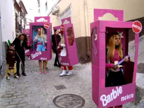 Barbies carnavales ser n 2011 mpg youtube - Difraces para carnaval ...