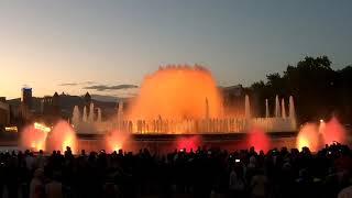 Barcellona - fontana magica queen