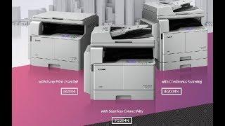 Canon IR 2004, IR 2204N & IR 2004N Photocopier Machine Overview ll Bnegali ll #bengali_Junction