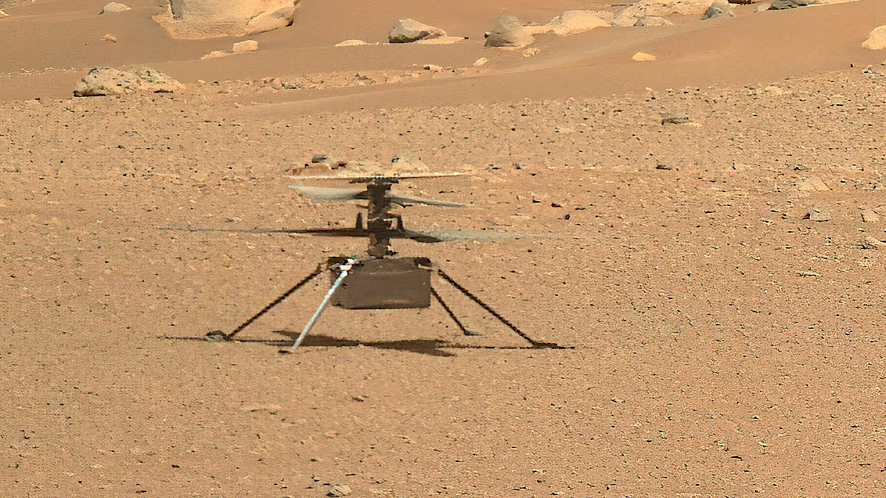 Ingenuity Helicopter reached 1 mile total distance on Mars successfully completing 10th flight