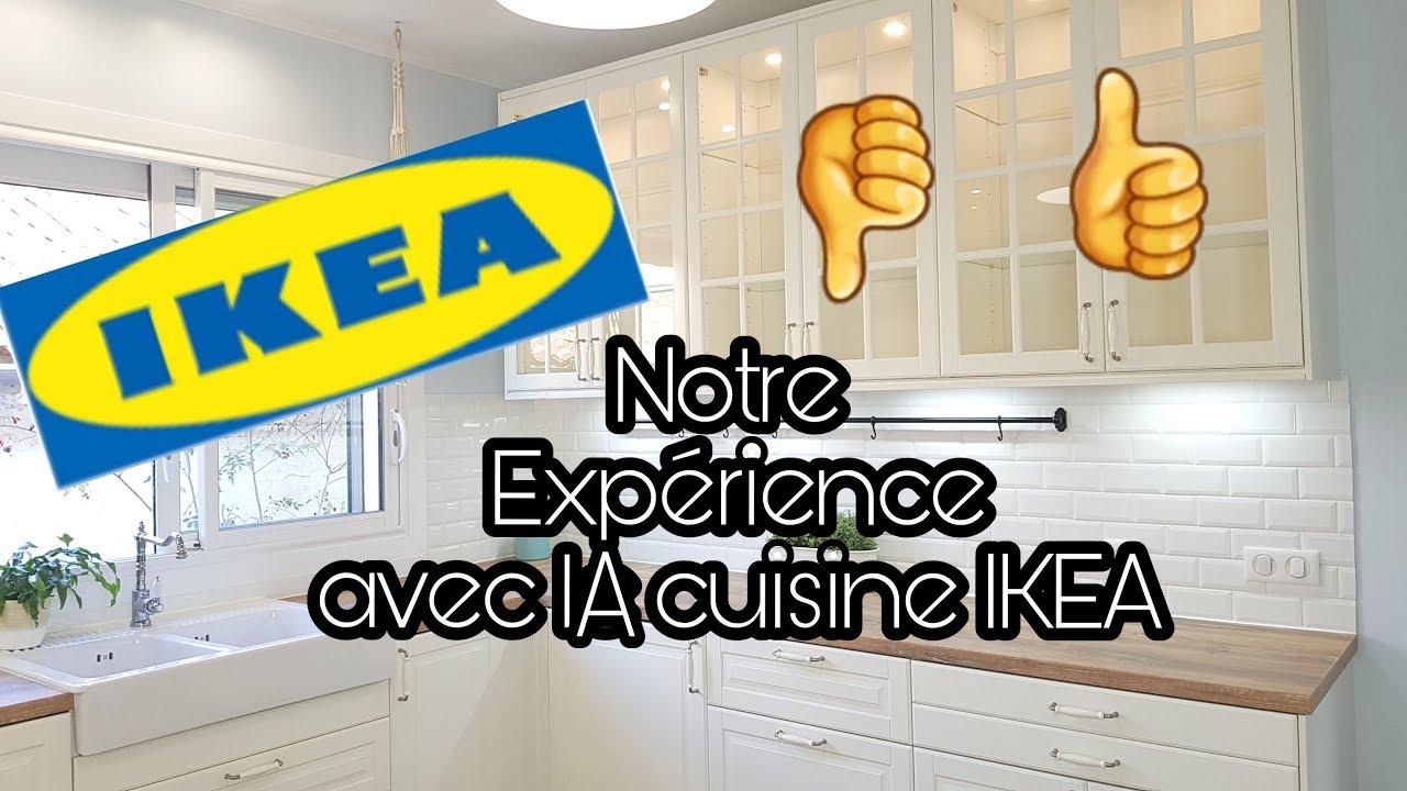 Notre Experience Avec La Cuisine Ikea Youtube